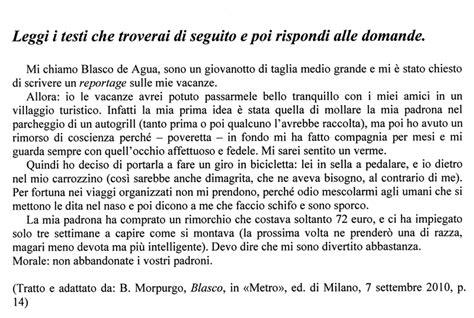 date testo prova invalsi on line 2010 2011 italiano seconda superiore