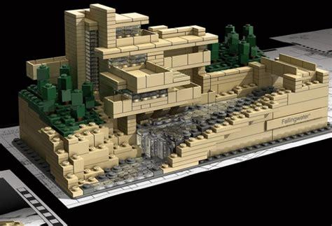 lloyd wright architecture frank lloyd wright s lego architecture sets yatzer