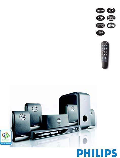 Home Theater Philips philips home theater system hts3400 user guide