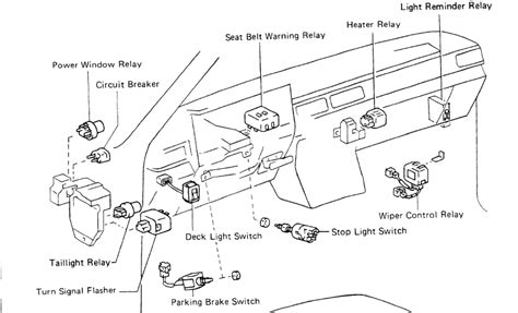 86 toyota wiring diagram 28 images 86 toyota truck