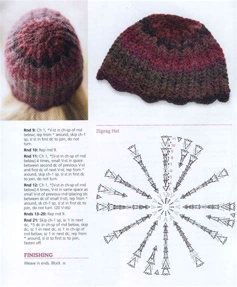 zig zag hat pattern crochet zig zag crochet hat pattern crochet kingdom