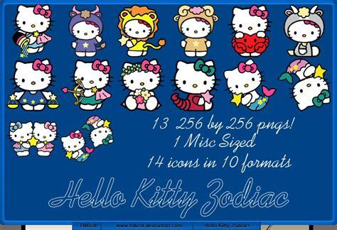 hello kitty zodiac wallpaper hello kitty zodiac by tnbrat on deviantart
