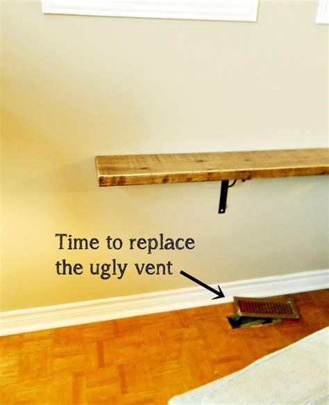 couch over heating vent diy sofa shelf easiest solution for a common problem