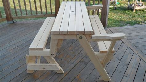 pattern  fold  table  bench folding bench picnic