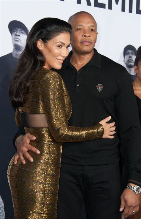 rap producer dr dre s wife nicole black and famous dr dre speaks out about abusive past