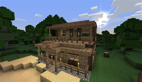 small house minecraft small house at the beach minecraft project