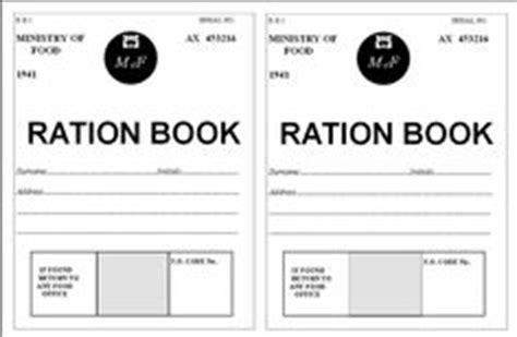 printable ration book template 1000 images about ww2 classroom display on pinterest