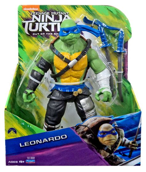 Figures Out Of mutant turtles out of the shadows leonardo