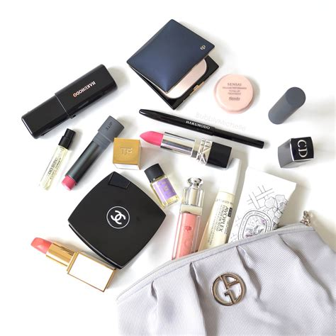 Whats In Your Make Up Bag 1 by Makeup Bag Essentials Some Permanant Residents And Some
