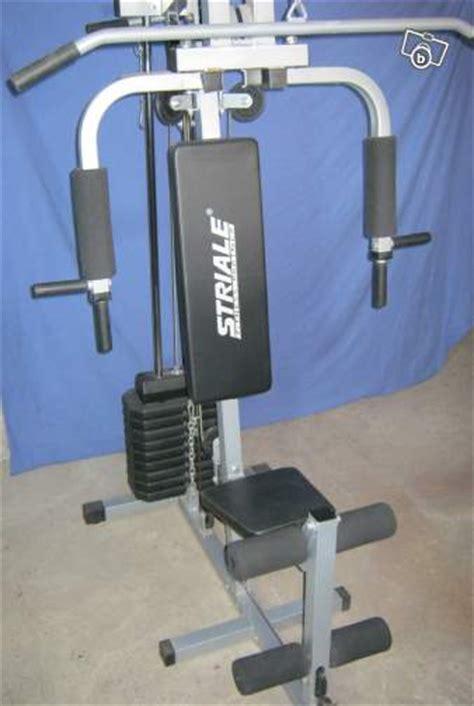 troc echange presse de musculation striale sh 6050 sur