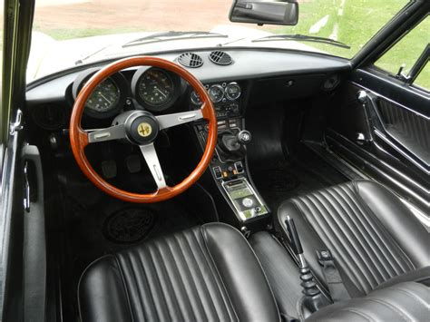 How To Clean Upholstery In Car 5k Mile 1974 Alfa Romeo Spider Bring A Trailer