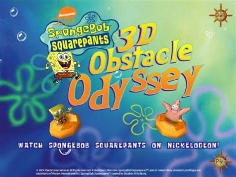 free full version spongebob games download download spongebob squarepants 3d obstacle odyssey full