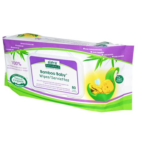 Baby Wipes aleva naturals bamboo baby wipes scented 80 wipes iherb