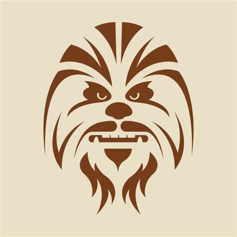 chewbacca outline www imgkid the image kid has it