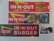 In N Out Burger Stickers