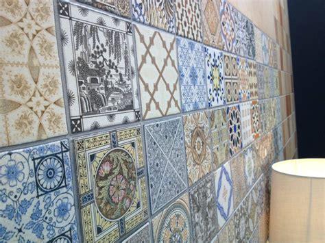 blue patterned kitchen tiles tiles vintage tile flooring kitchen vintage matte white