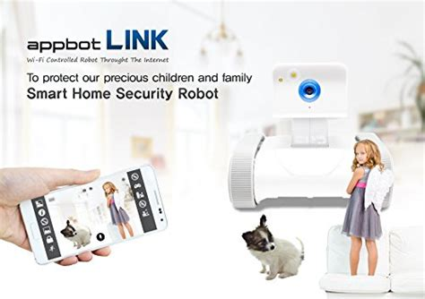 appbot link the smart home security robot ip