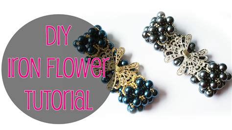 fiori acciaio eng subs diy tutorial bracciale con perle fiori dacciaio