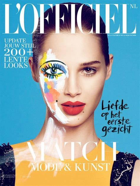 Is That You Pop Magazine Fashion Issue by Floral Pop Editorials L Officiel Netherlands