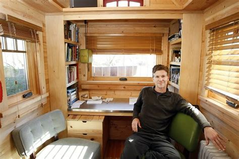 tiny house living tuesday s tiny house tour video home tours jay shafer s amazing tiny house