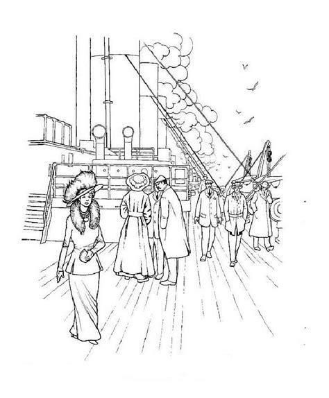 titanic coloring pages coloringpages1001 com