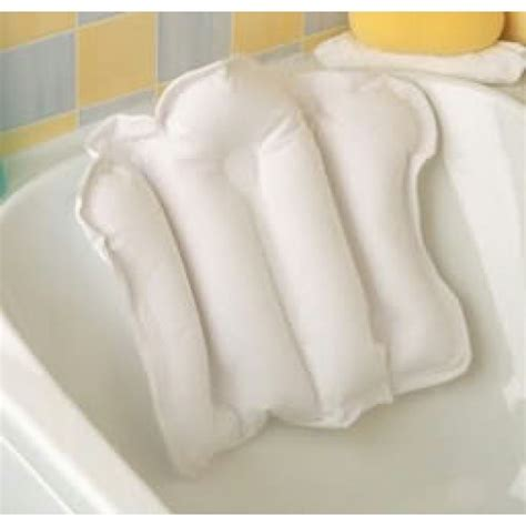 spa pillow for bathtub inflatable bath pillow bathing sundries bathing aids procter health care