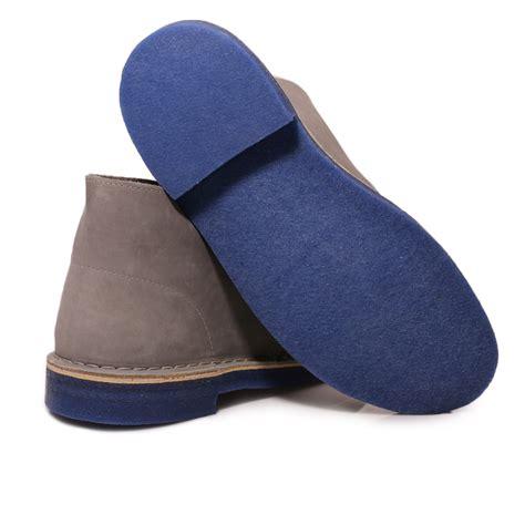 clarks mens grey blue suede desert boots shoes size 7 11