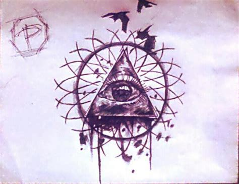 tattoo québec pyramid the all seeing eye 2 no future foundmyself