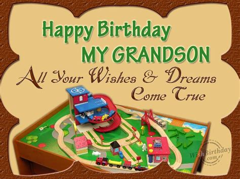 Happy Birthday Wishes To My Grandson Birthday Wishes For Grandson