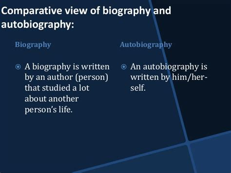 main differences between biography and autobiography biography and autobiography in social sciences