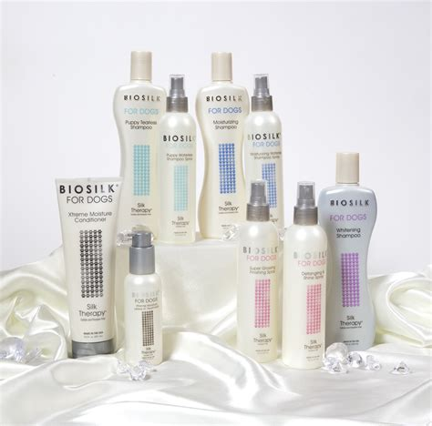 biosilk for dogs biosilk detangling and shine spray for your dogs coat care 4 dogs on the go