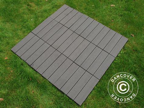 terrassefliser i plast terrassefliser wpc click floor lines 30x30cm 9stk boks