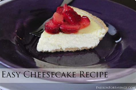 recipe for easy cheesecake food for health recipes