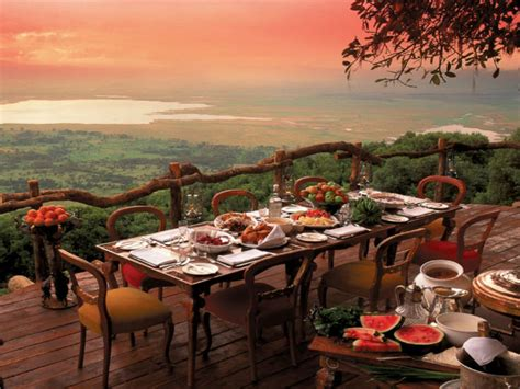 world most beautiful bbq table 50 of the world s most breathtaking restaurant views