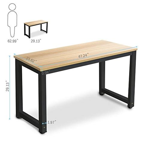 Modern Simple Desk Tribesigns Modern Simple Style Computer Desk Pc Laptop Study Table Office Desk Workstation For