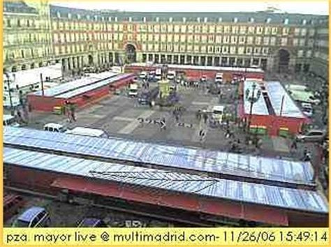 camara web salamanca plaza mayor webcam madrid spain web cameras on