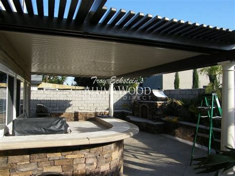 alumawood patio cover exle five 21 best images about alumawood patio covers diy on