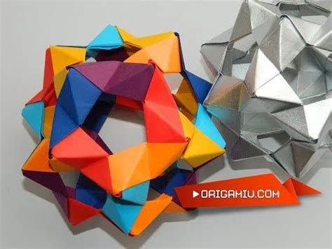 How To Make A Paper Dodecahedron - origami bucky dodecahedron 30 phizz units