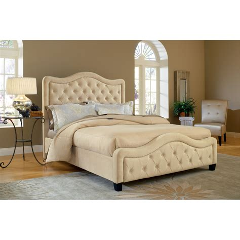 hillsdale headboard hillsdale trieste upholstered low profile bed buckwheat