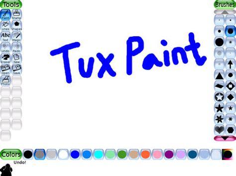 tux paint play tuxpaint hd apppicker