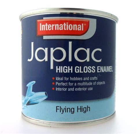 high gloss paint international japlac high gloss enamel satin metallic