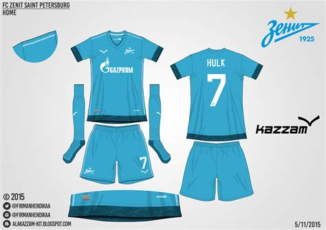desain jersey warna biru fc zenit saint petersburg fantasy home kit alakazzam