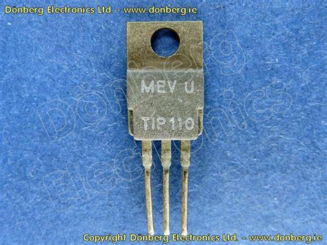 transistor darlington tip 110 semiconductor tip110 tip 110 transistor silicon npn 60v 2a 50w darlington