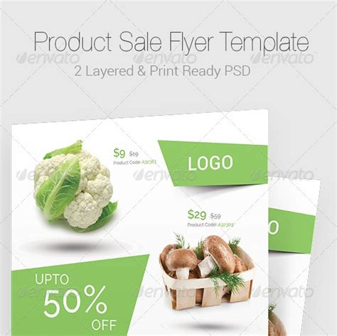 product flyer template 20 cool sale flyer templates