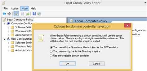 domain controller  group policy  windows