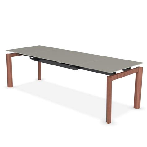 calligaris glass dining table calligaris esteso wood extending glass dining table