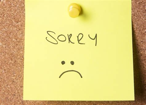 Apology Letter Wrong Price Quote how to apologize at work fortune