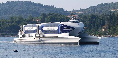 aquavision glass boat catamaran umag vožnja brodom do venecije adriatic lines