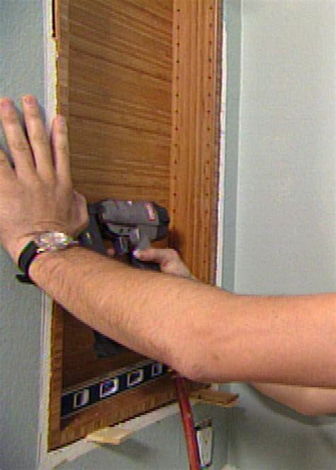 removing built in medicine cabinet how to build a modern bamboo medicine cabinet hgtv