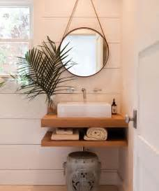 great for a small bathroom mirror floating shelves